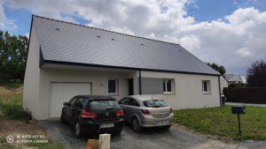 Livraison d'une maison sur Faye d'Anjou 49380