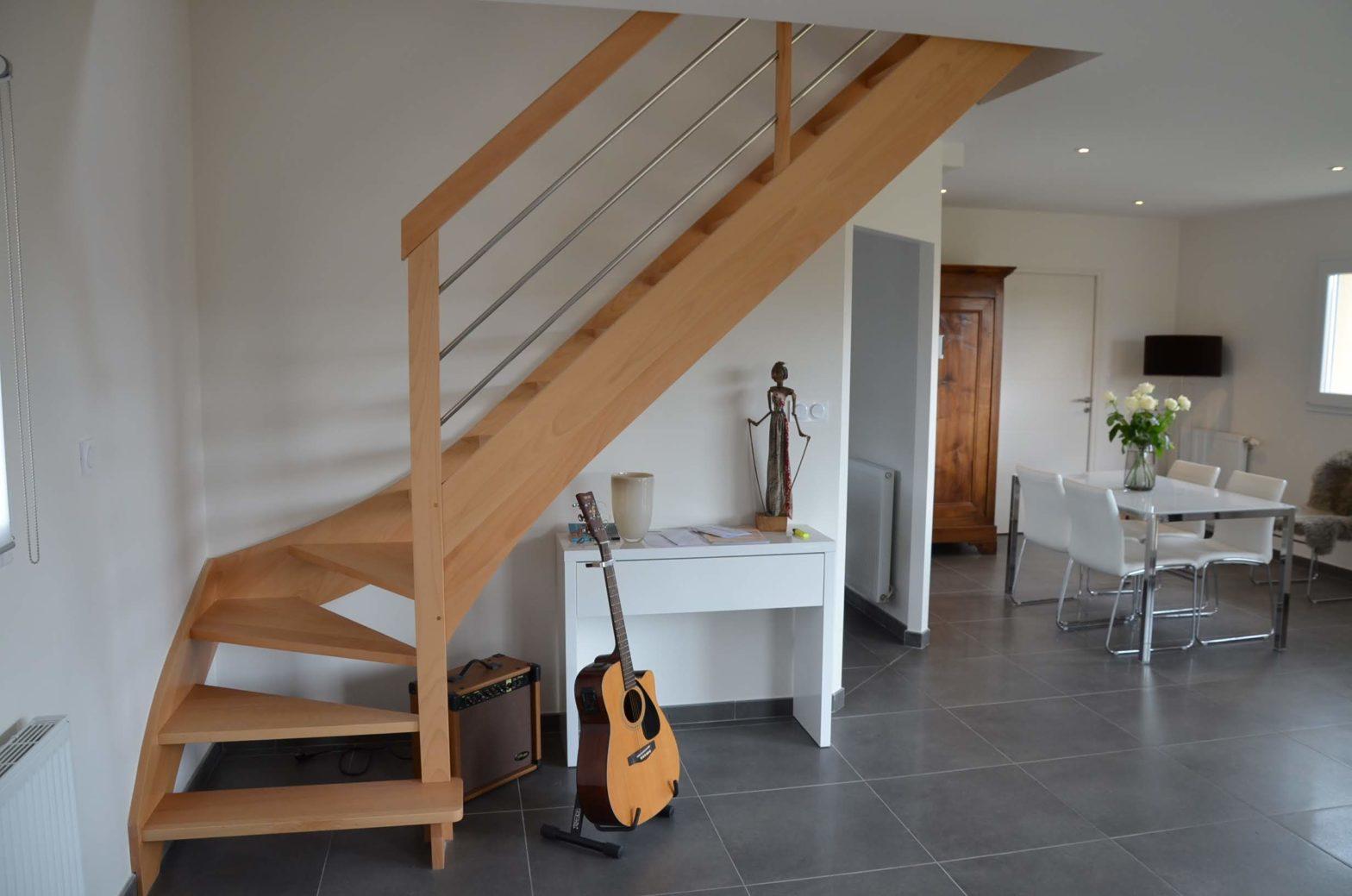 escalier 1/4 tournant de chez riaux escalier