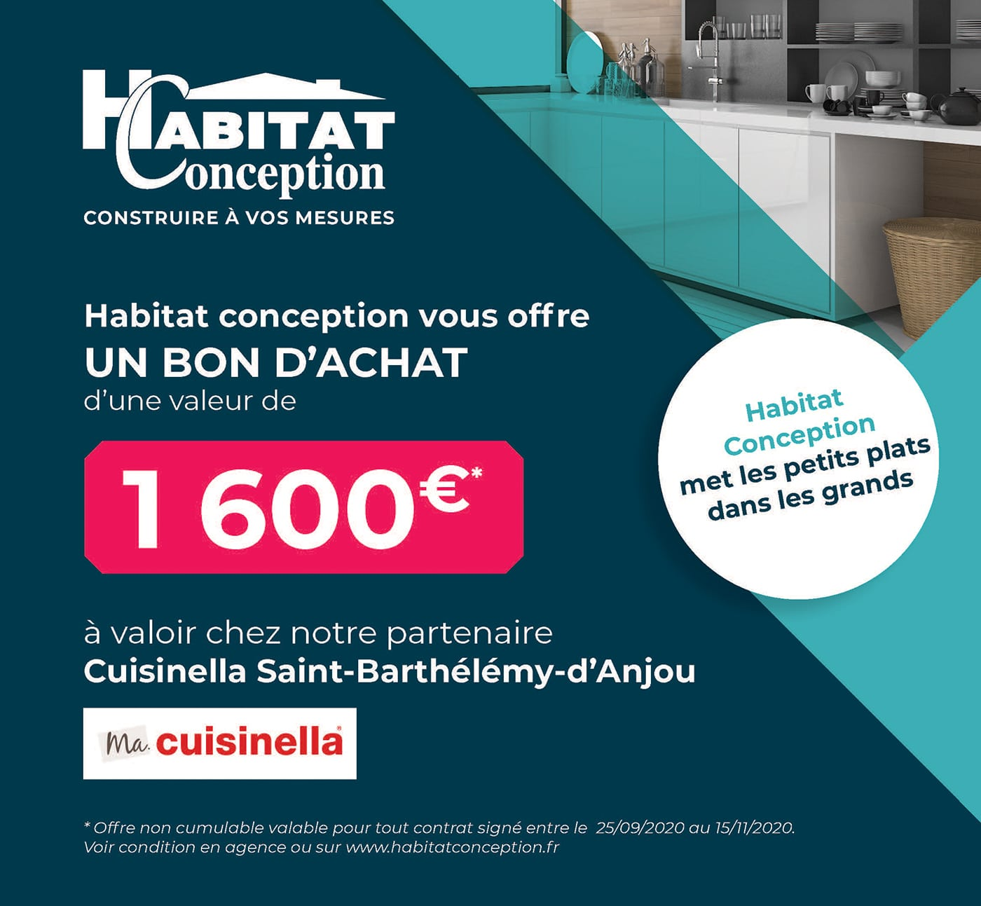 cuisinella maison individelle habitat conception angers