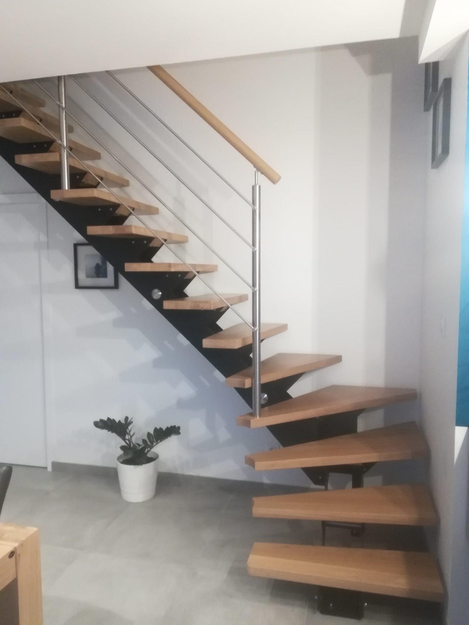 escalier moderne de chez riaux escalier