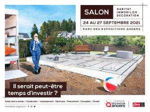 Salon de l'habitat Angers du 24 au 27 Septembre 2021