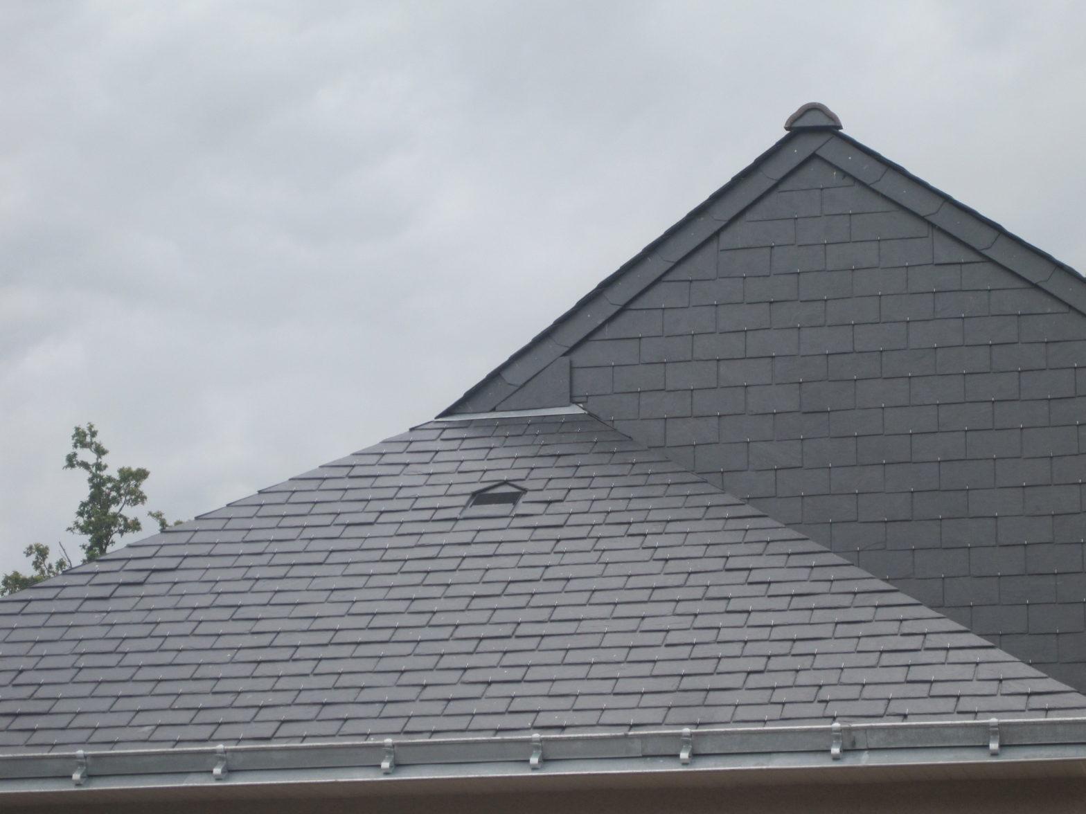couverture clairie toiture couverture ardoises naturelles espagne 49125 briollay