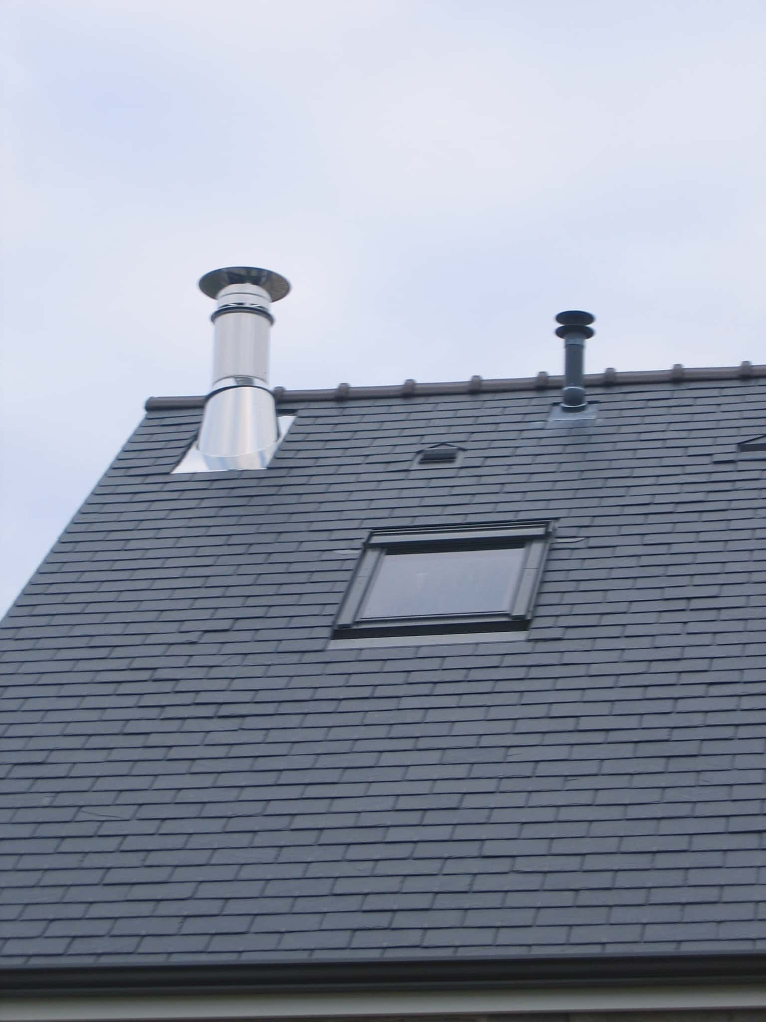 Sortie de toît pour poêle cheminée à Brissac-Quincé