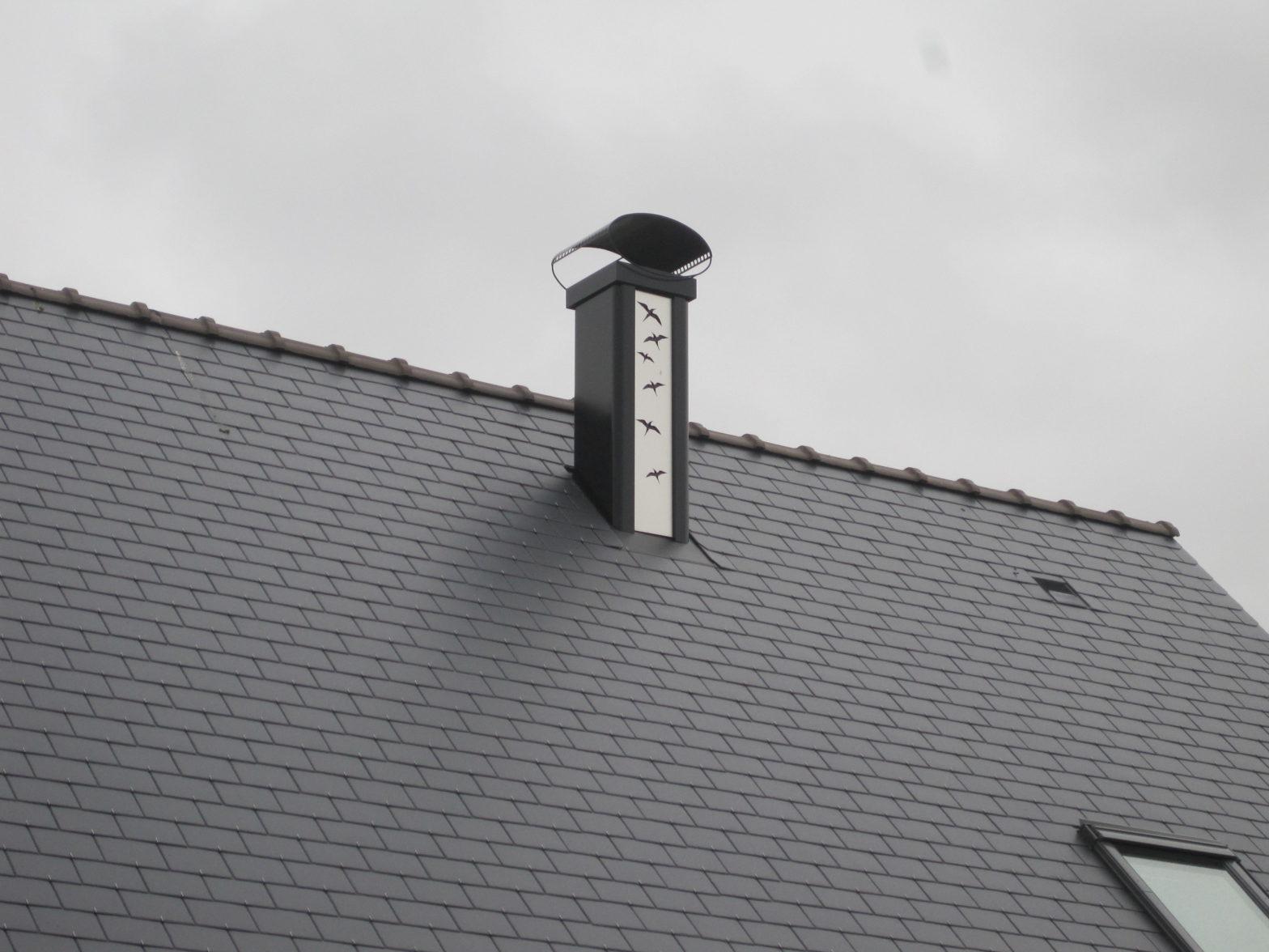 couverture sortie de toit pour poele cheminee 49 notre dame d'alençon