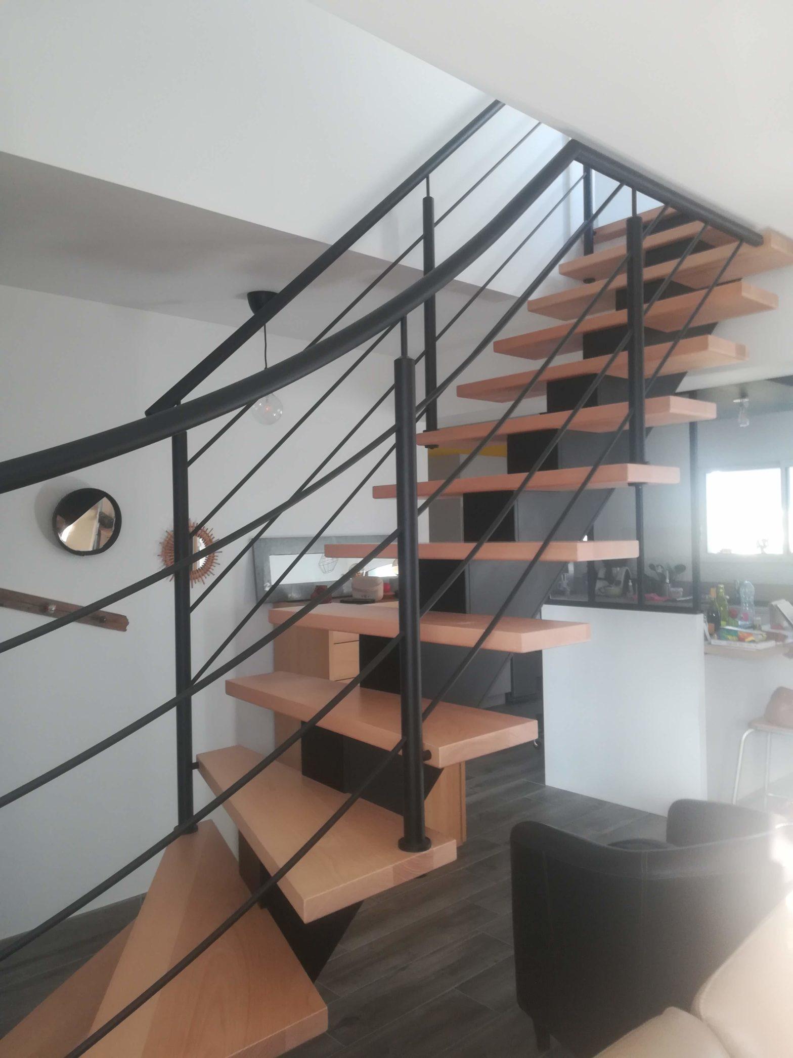 escalier-riaux-1/4T