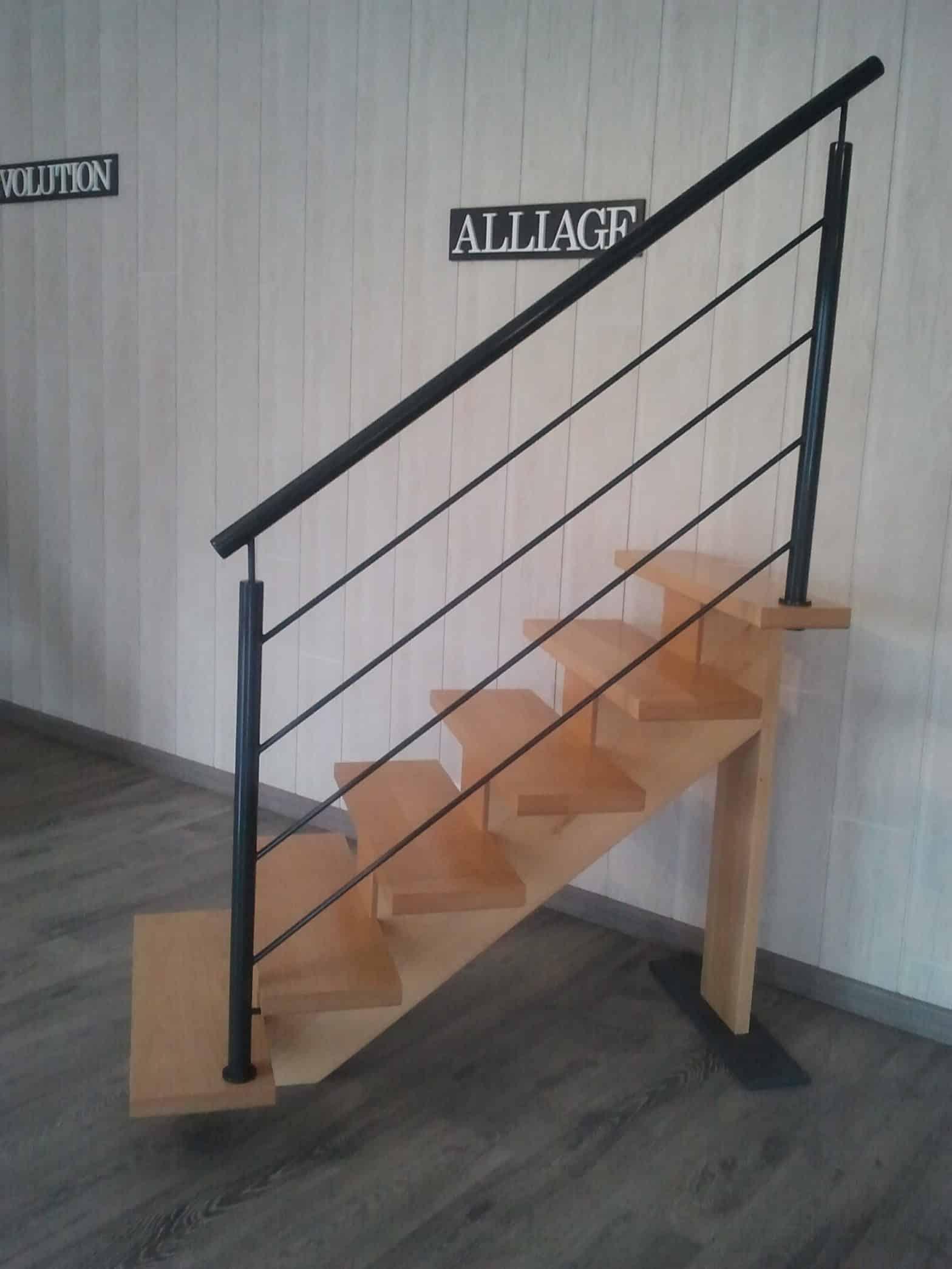 Escalier alliage escalier riaux - La Possonnière