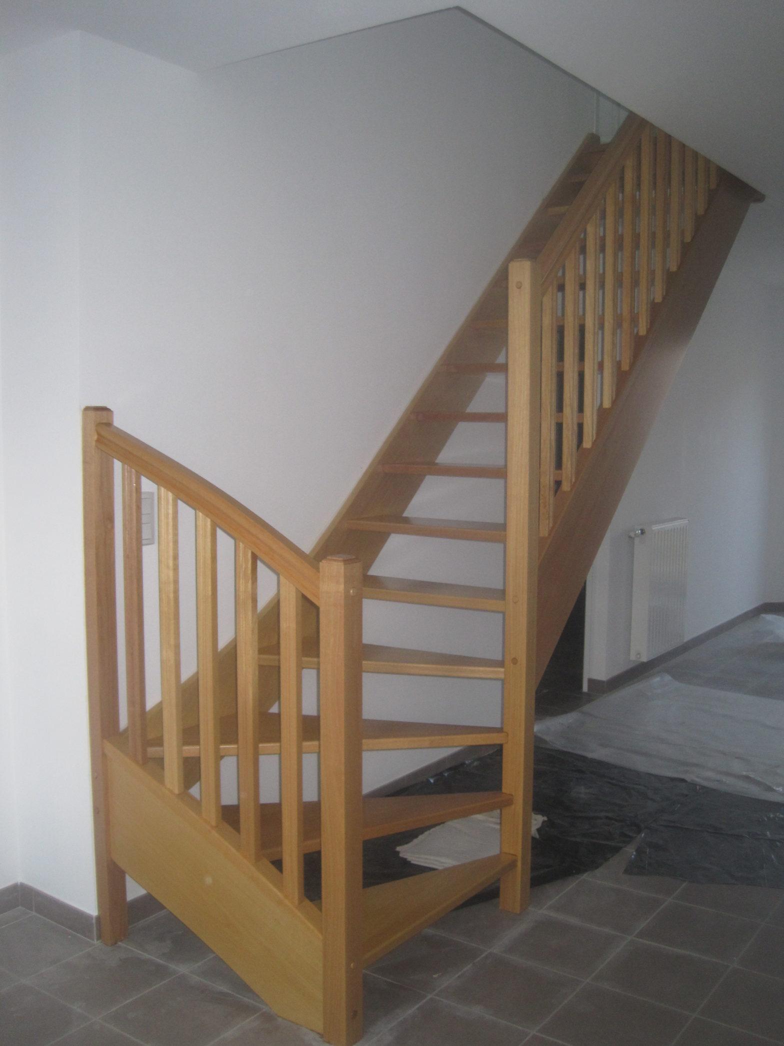 escalier quart tournant esaclier riaux juigné sur loire 49