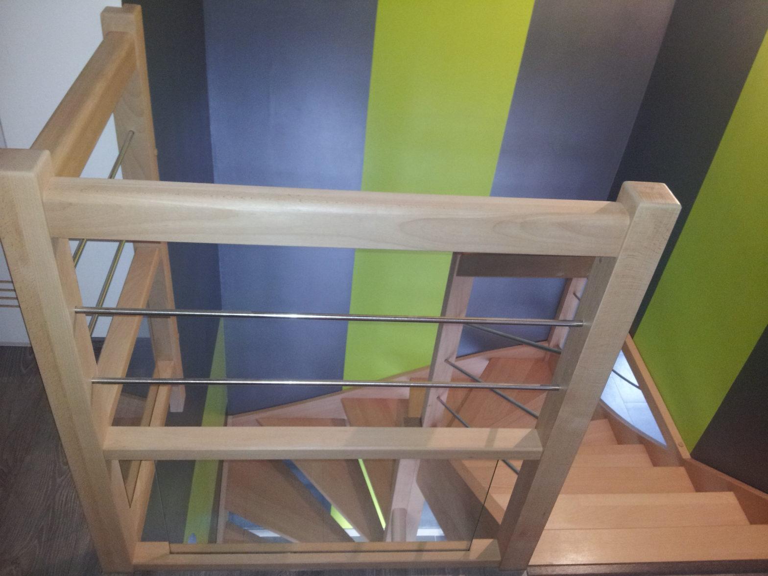 escalier rambarde alu 49125 briolay