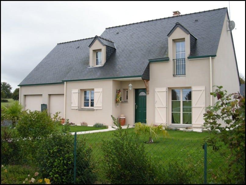 maison, etage, comble, toiture, ardoise, andard