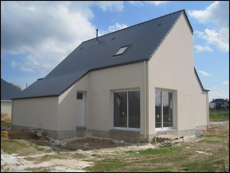 maison,etage,comble,toiture ardoise,beaufort-en-vallee