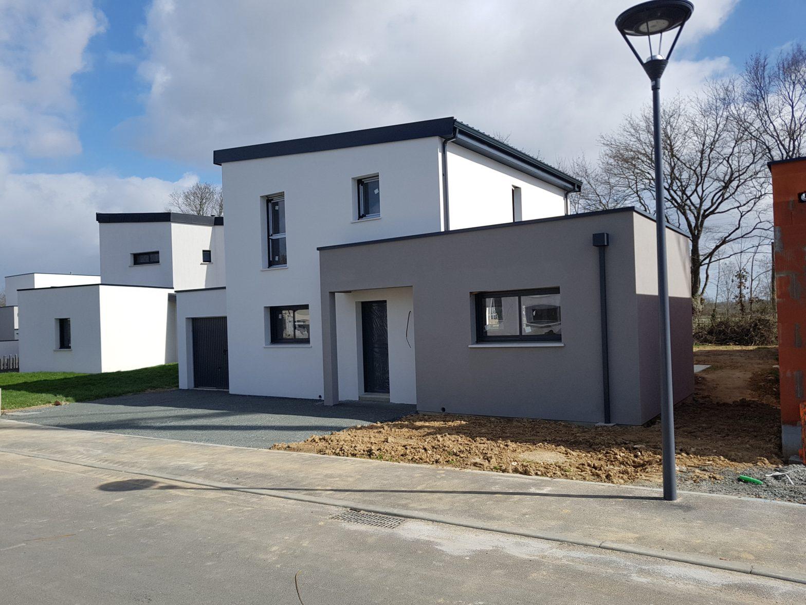 maison etage r+1 toit monopente saint barthelemy d'anjou 49124