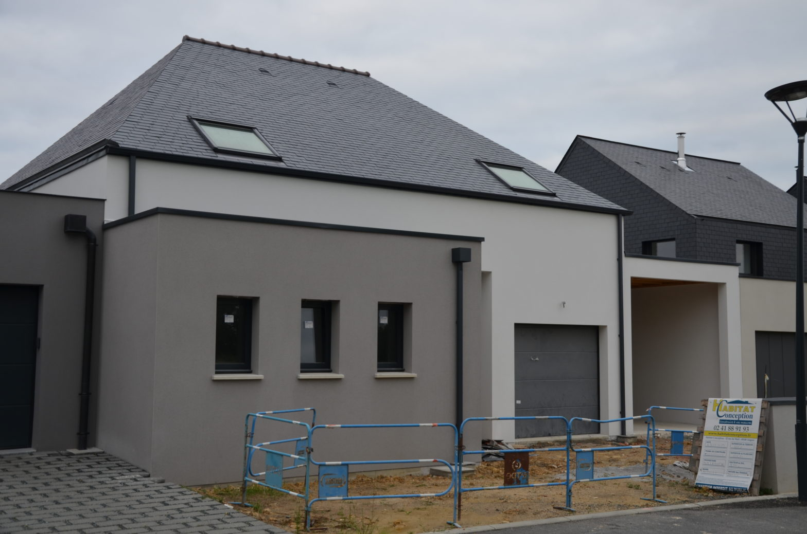 maison etage r+1 toiture monopente 49125 tierce