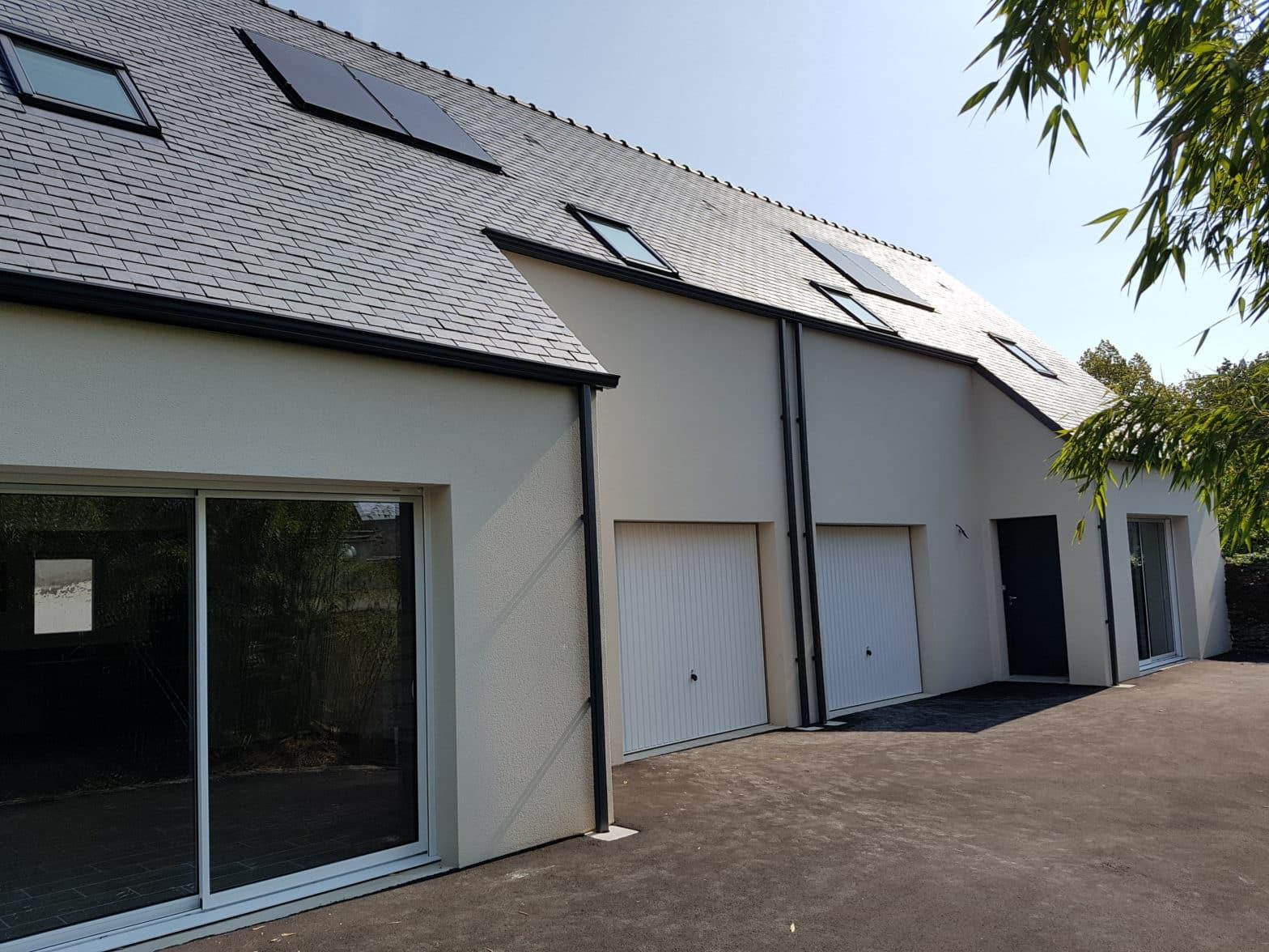 maison etage toiture ardoise maze-millon 49630