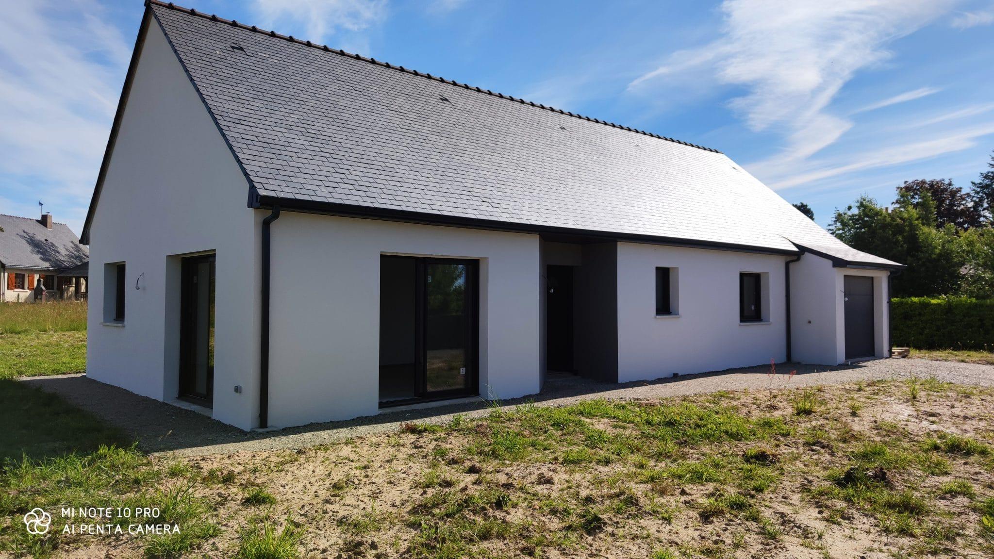 Habitat Conception : Réception d'une maison sur Baugé en Anjou