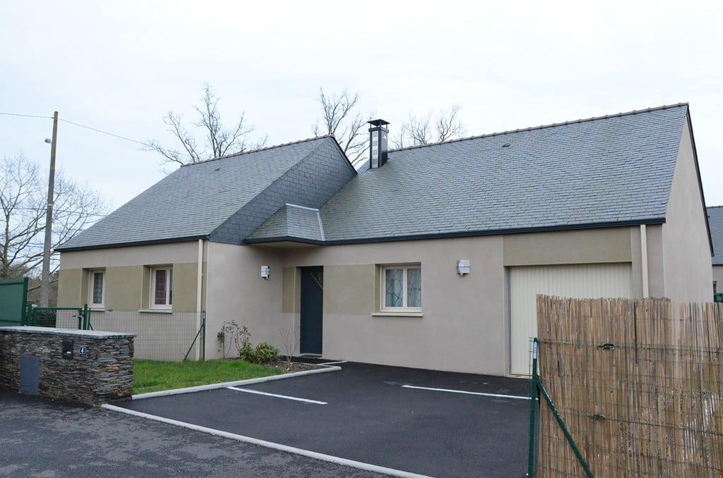 maison plain-pied toiture ardoise brissac quince 49