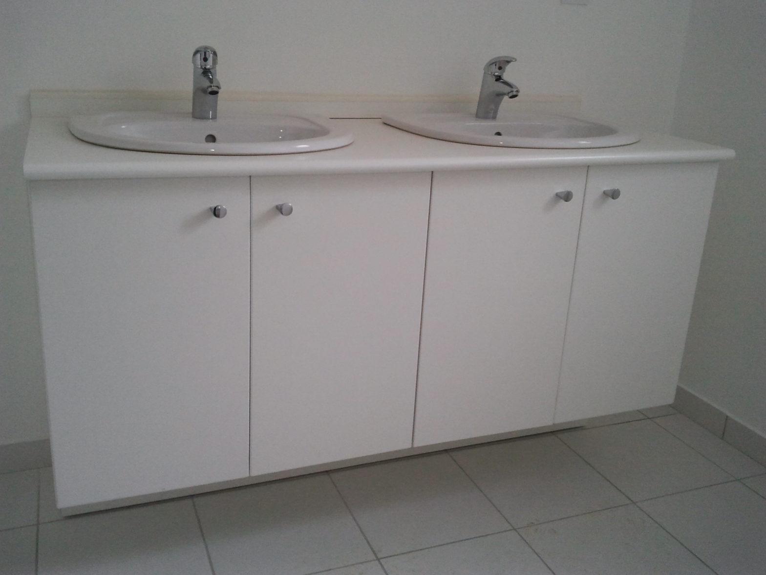 meuble double vasque de chez CEDEO 49800 sarrigné